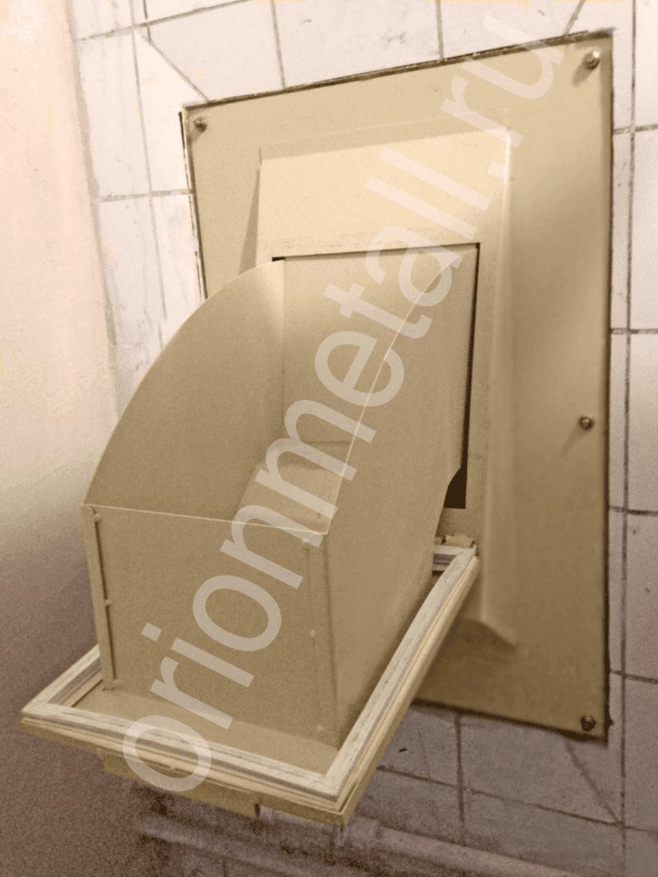 Пример использования Клапан мусоропровода фланцевый КМ-600/400.240