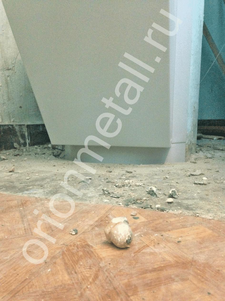 Пример использования Клапан мусоропровода КМ-450ММ